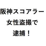 阪神タイガース山脇光治スコアラーが女性をスマホ盗撮容疑で現行犯逮捕はなぜ?結婚して嫁はいるの・今後どうなる?