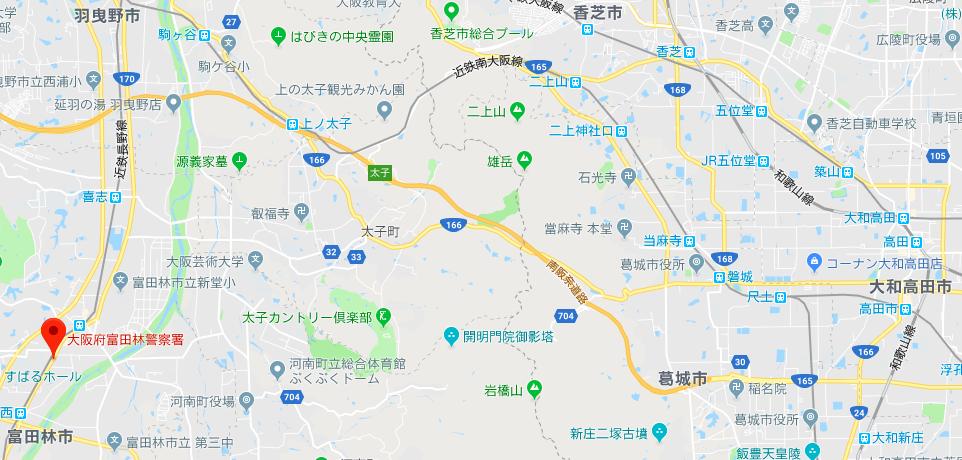 奈良の逃走先
