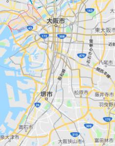 富田林逃走男大阪市西淀川区