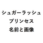 シュガーラッシュプリンセスの名前画像と続編2018人気ランキング!
